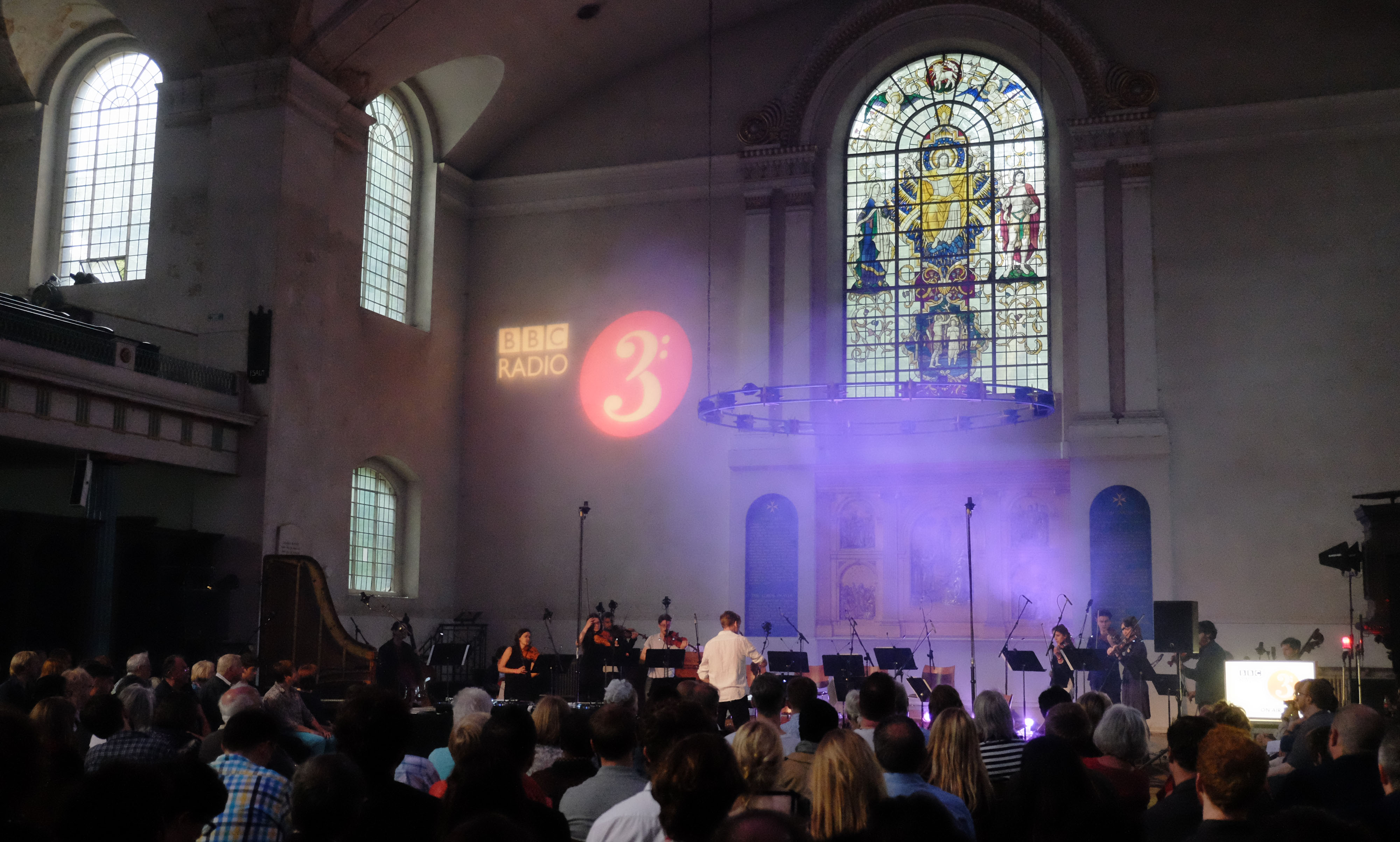 Live Recording of Radio 3's Open Ear at the Church of St John-at-Hackney in London on Thursday 30 June 2016. Photo by Mark Allan/BBC