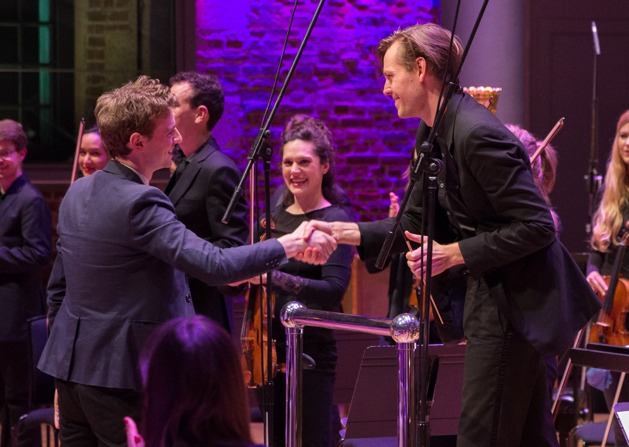 London Contemporary Orchestra takes to the stage in front of a star-studded audience to launch The Cadbury Dairy Milk Sound of Flavourites album, the first ever music album designed by the brand to enhance the taste experience of the nine flavours in the Cadbury Dairy Milk range
