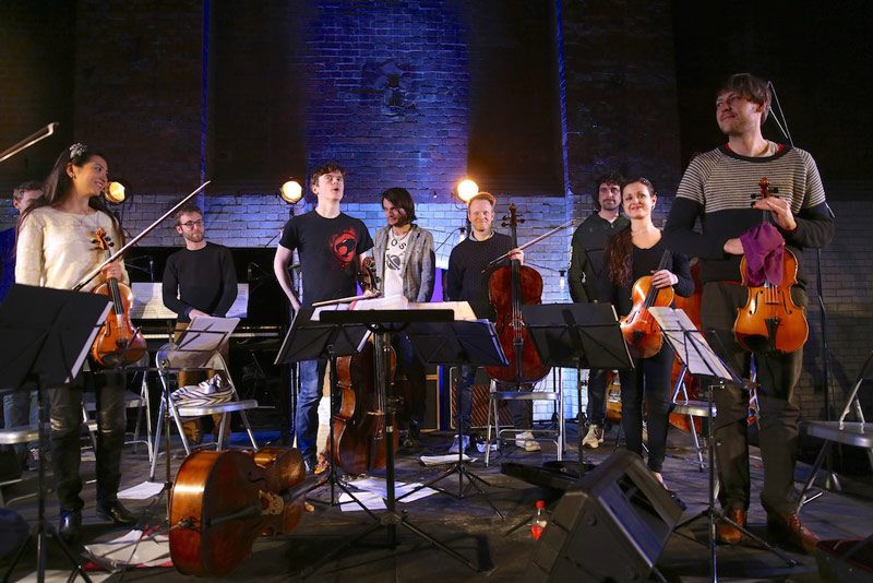 Jonny Greenwood And Lco Soloists Wapping London